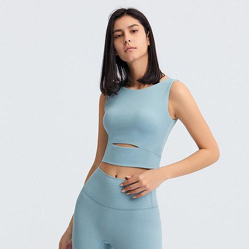 Women Yoga Vest Top