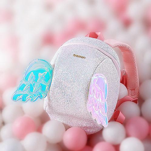 Sunveno Cartoon Angel Children Backpacks Kids Anti Lost Bag Safety Harness