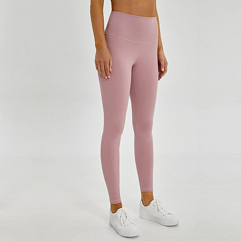 Women Solid Color Fitness Workout Leggings