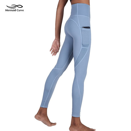High Waist Thin Style Outdoor Legging With Pocket