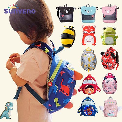 Sunveno Children's Backpack Bag for Boys Girls Toddler – Safety, Lightweight