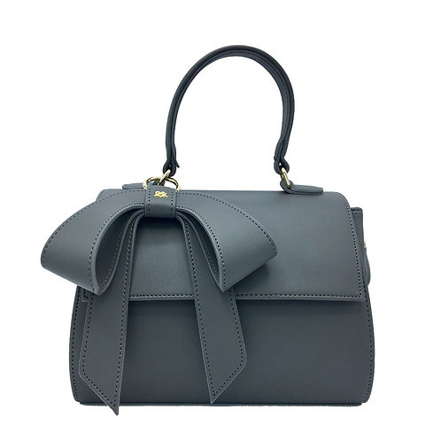 Cottontail - Gray Vegan Leather Bag