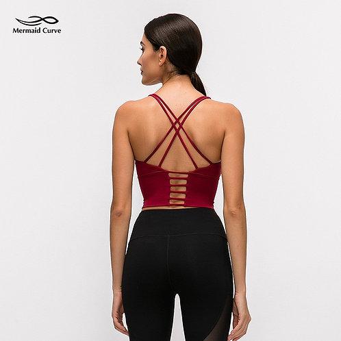 Beauty Back Sport Bra Top