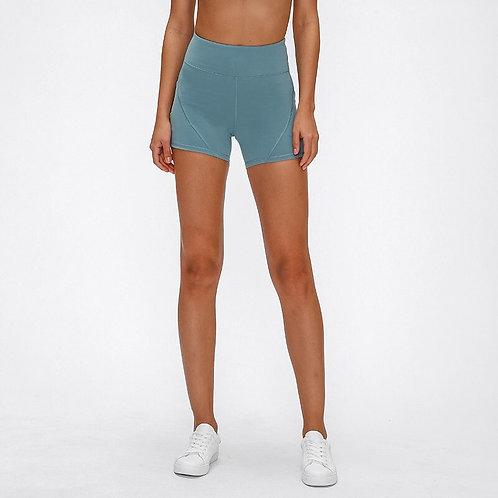 Side Pockets Skinny Yoga Shorts
