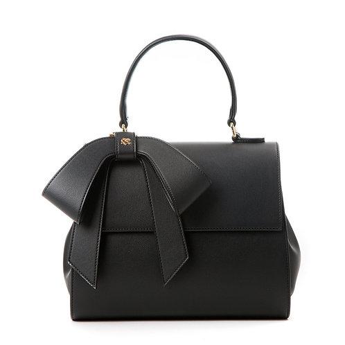 Cottontail - Black Vegan Leather Bag