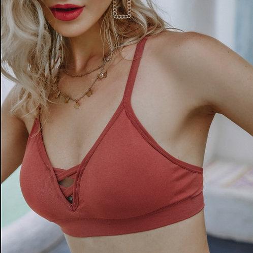 Sexy Women Bra Cotton Tops Bralette