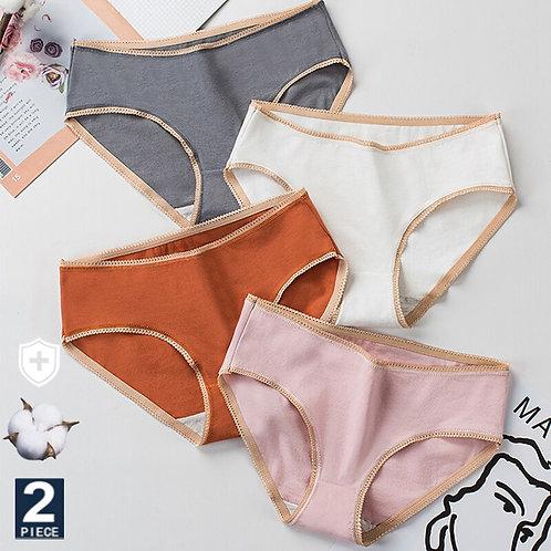2pcs/Set Cotton Panties