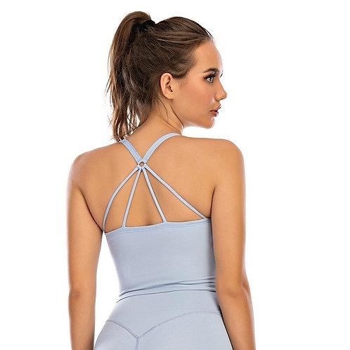 Multiple Straps on the Back Sports Bra