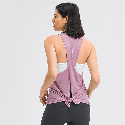 Women's Clothes Classic Fit Hip Length Fitness Tank Top