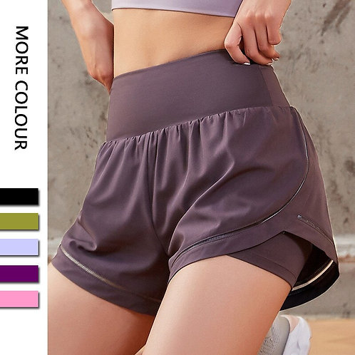 High Waist Quick Dry Fitness Sports Shorts