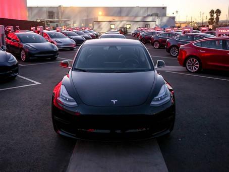 Tesla Model 3 奪美最暢銷豪華車