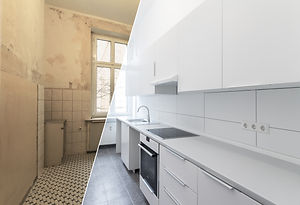 new kitchen before and after renovation