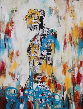 Emily Sarah Art arist porrit painting