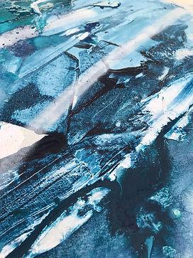 Emily Sarah Art FrreFlow Painting Modern Abstract Art