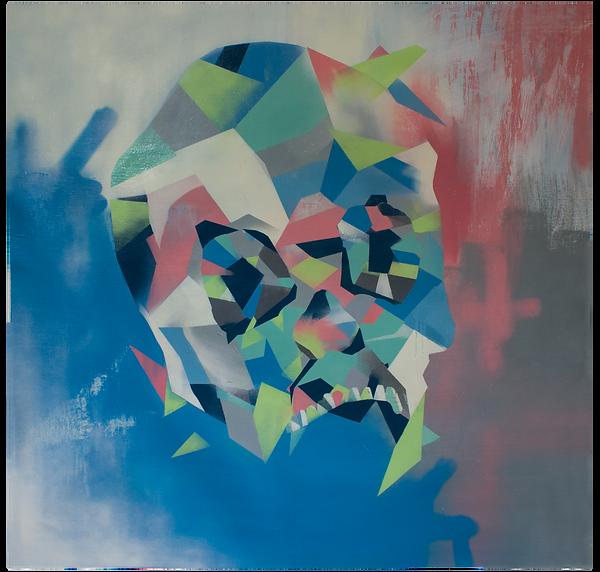 Emily Sarah Art Prism Line of Abtrat Paintings Urban Spray PAint Acrylic ORiginal Canvas Works