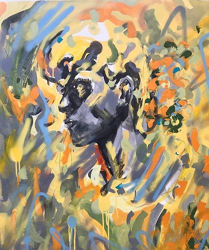 Emily Sarah Art Portrait painting oil on canvas