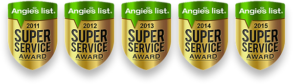 Angie's List Super Service Award for dog boarding services