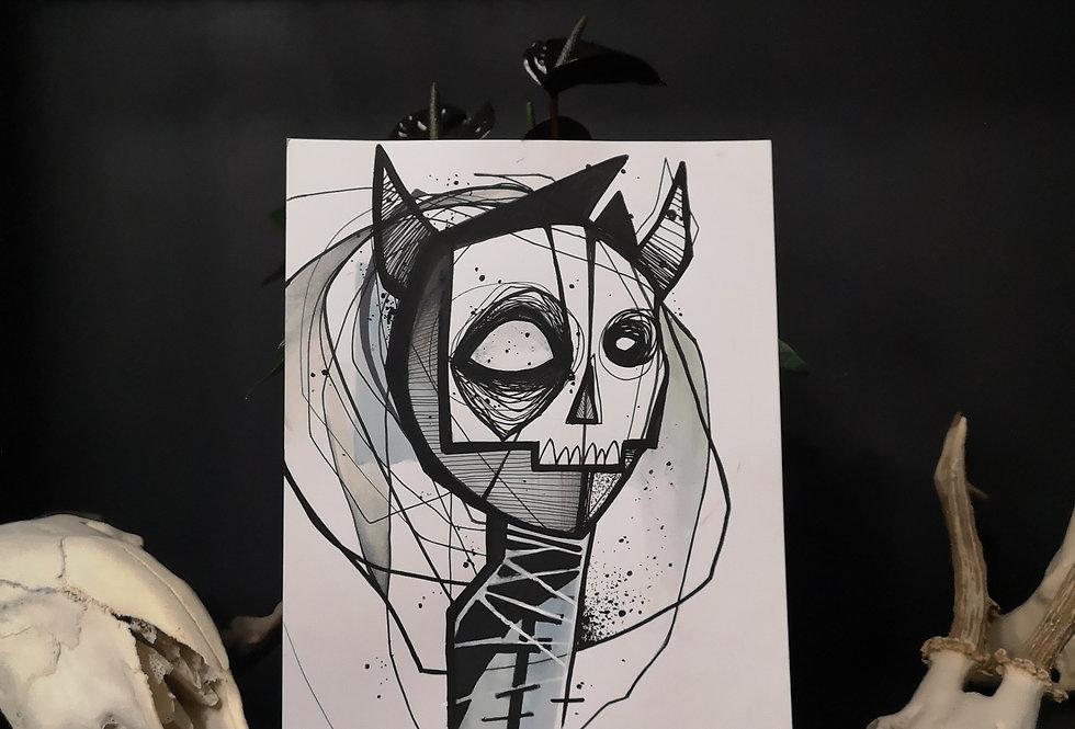 Original drawing /Demon