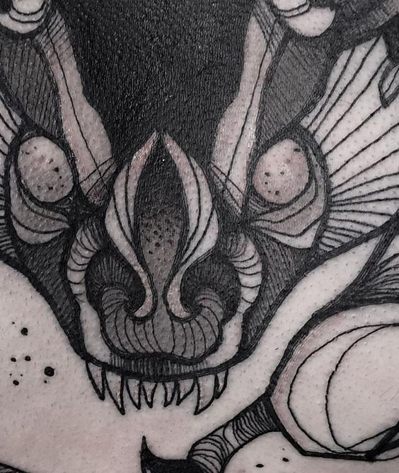 close up of the batflash  ------------