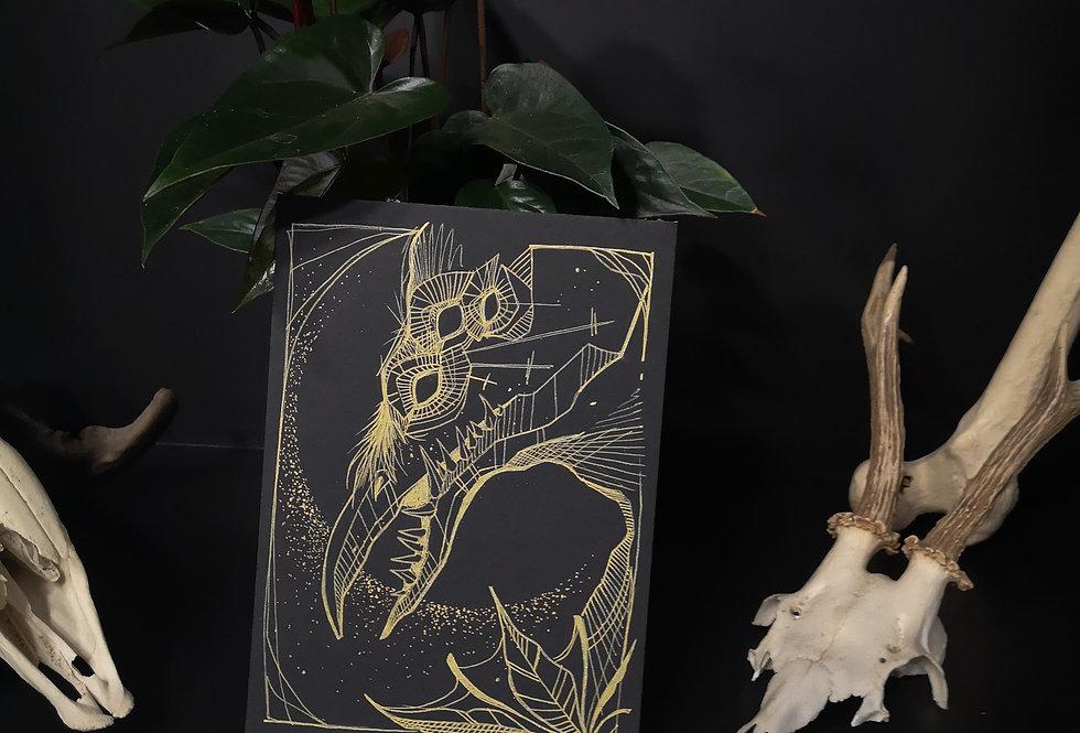 Original drawing /Corvus
