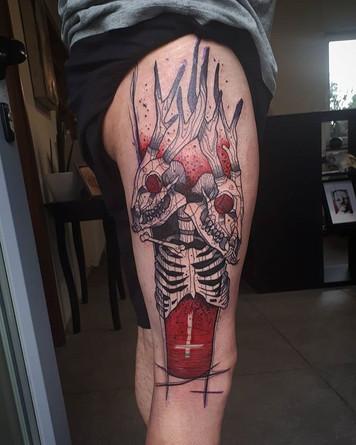 Big flash done last week!!! #tattoo #tat