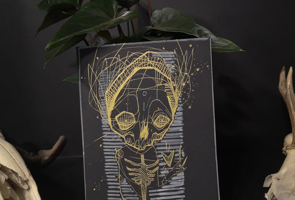 Original drawing /Skeleton 1