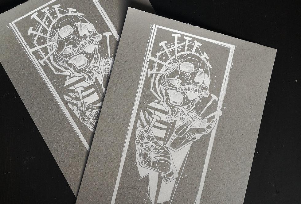 Silk screen print  /NVILZ