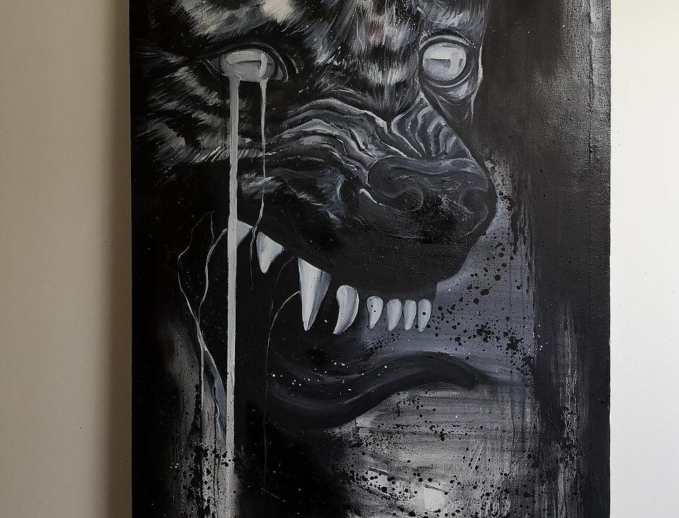 Weeping Hyena / De(con)struction series