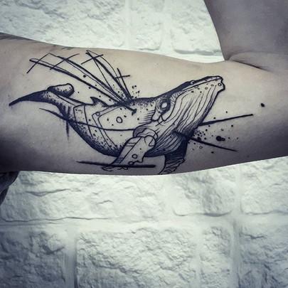 Done at cursed ship tattoo #cursedshipta