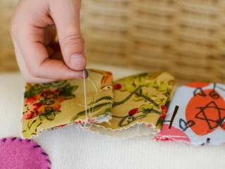 10 Ways to Sew While Raising Children