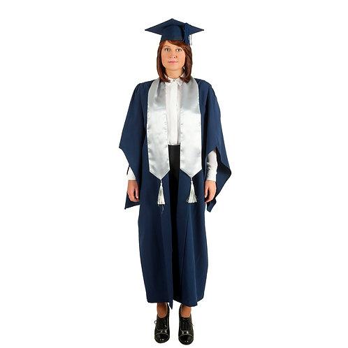 Комплект бакалавра синий