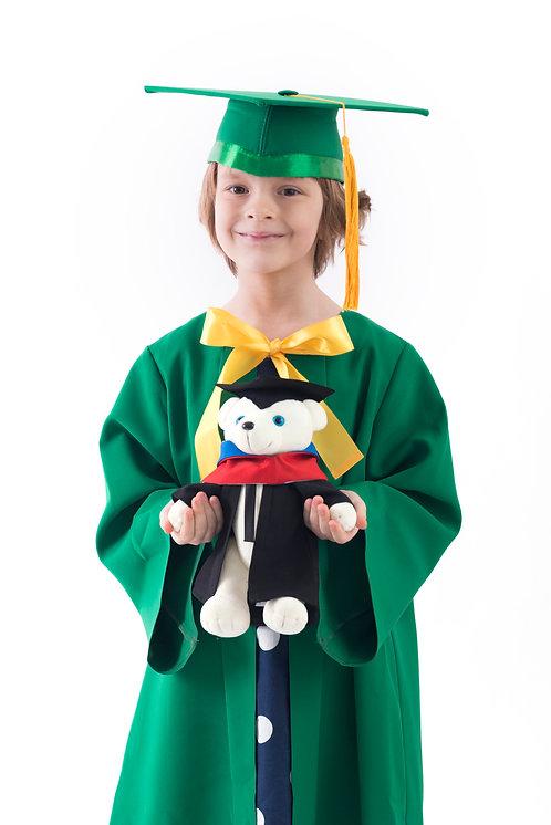 Комплект для детей, зеленый