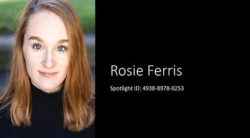 Rosie Ferris Showreel