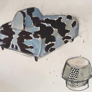 bench sketch