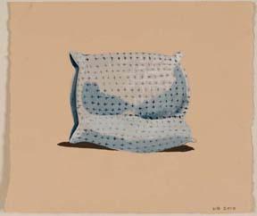 untitled (cross pillow)
