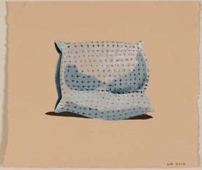 untitled (cross pillow)