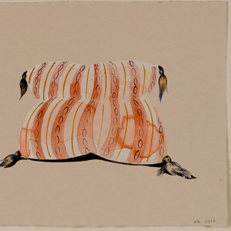 untitled (orange stripe)