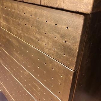 Metal Leaf Dresser (detail)