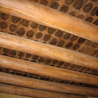 pine cone ceiling