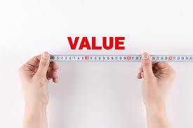 Establishing value crushes having a sales process