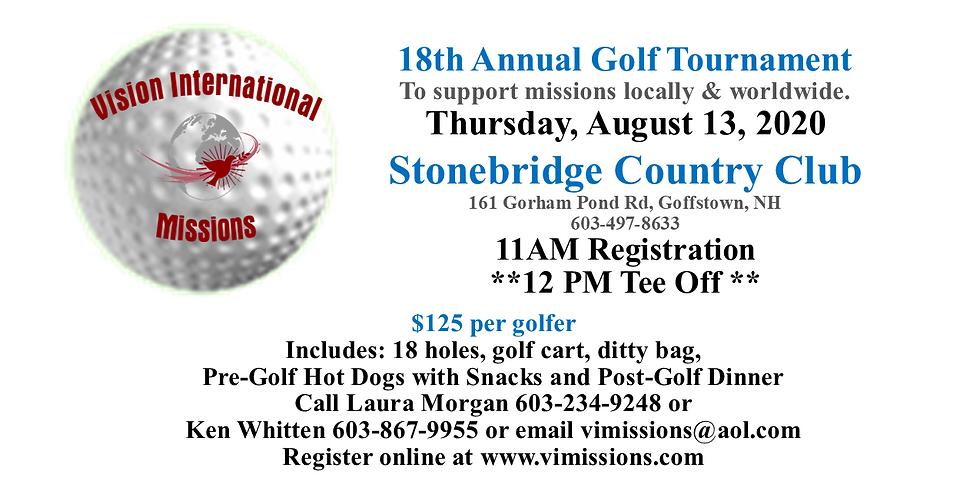 18th Annual Golf Tournament