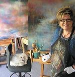 Bronwyn in Balmain Studio