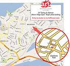 Balmain Art Classes Studio Map