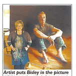 Artist puts Bisley in the picture