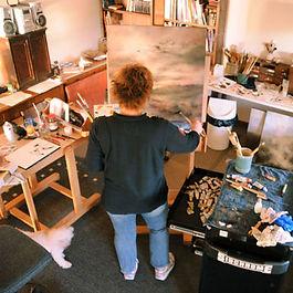 Bronwyn in Pilbara Studio