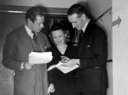 15 April 1940 with Rex Harrison and Ceci