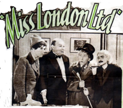 June 1943 Miss London promo