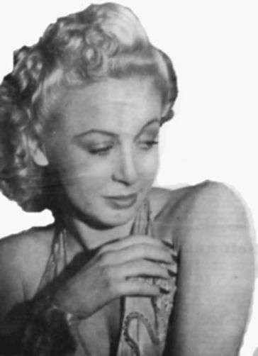 Image of Evelyn from Follow the Girls in 1945