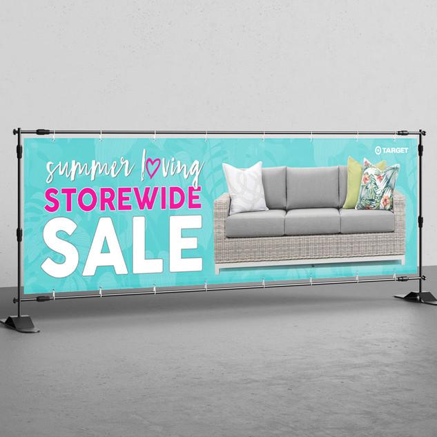 Sale Banner - Target Furniture
