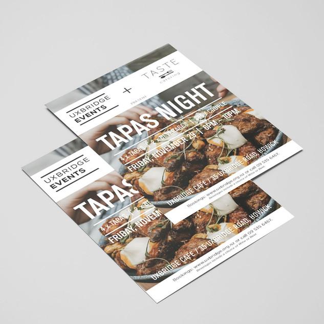 Event Flyer - Taste Catering